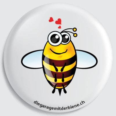 flückiger - diegaragemitderbiene.ch - Das ist Biene Erwin, der Freundliche