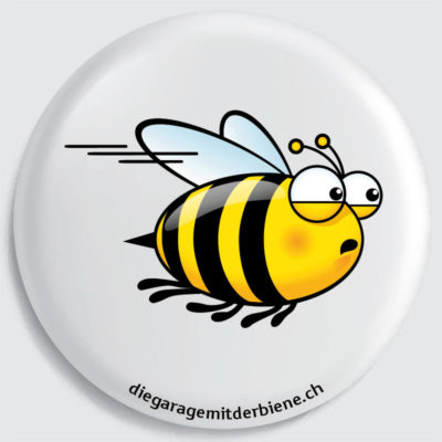 flückiger - diegaragemitderbiene.ch - Das ist Biene Lisa, die Fleissige