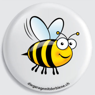 flückiger - diegaragemitderbiene.ch - Das ist Biene Maya, die Gewissenhafte
