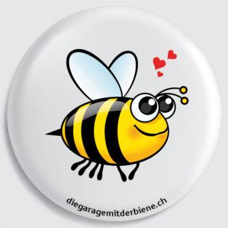 flückiger - diegaragemitderbiene.ch - Das ist Biene Sara, die Herzliche